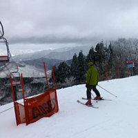 再び福井県今庄スキー場へ