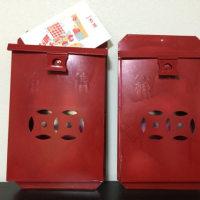 〈4/3  香港・士多のご夫婦と赤い信箱〉