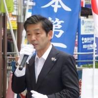 兵庫県知事選と都議選八王子選挙区・中川暢三と岡村幹雄を推奨・外国人生活保護の支給停止など公約