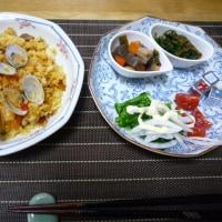 朝ご飯と昨日の晩御飯