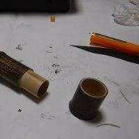 黒竹でタナゴ竿のケースを作ってみました。
