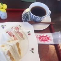 サンドイッチランチをメルへンのギャラリーカフェで