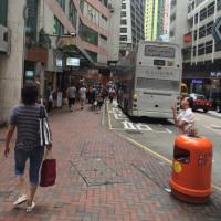香港は毎日曇り