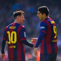 Suarez is a good fit for Messi's center.