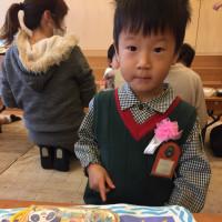 とっくん、幼稚園のお誕生会