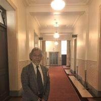 本日は国会参議院、衆議院へ伺うことに・・・「吉田肖像美術」