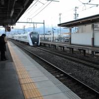 新型あずさE353試運転@平田駅