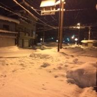 大雪警報継続