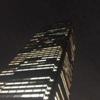 ミッドタウンの夜のパークヨガに行ってきました