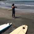 太東ビーチでサーフィン‼️