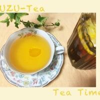 Tea Time は『ゆずティー』♪〜
