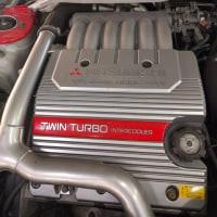 三菱・レグナム  VR-4 2500CC ツインカム・インタークーラーツインターボ4WD280馬力