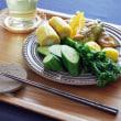 手作りジャムと夏野菜