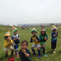 5月8日 河川敷通常練習