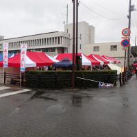 雨のマラソン大会になりました