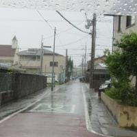 登校時間帯に強い雨