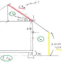 小屋の設計図その1