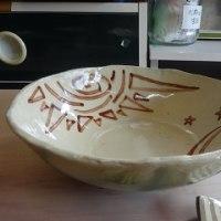 初窯で焼いたお茶碗完成