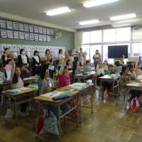 授業参観・PTA総会お世話になりました。