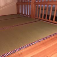 ロフトに薄畳を敷いて快適空間