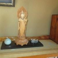 仏像製作者のお宅を訪問