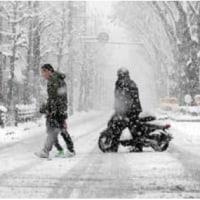 ◯【京都市内で積雪14センチ】・・・・・スリップ、転倒相次ぐ⇔大雪警報継続
