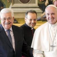 ローマ法王は、アメリカ大使館を「首都エルサレム」に移転させることに懸念を表明!!