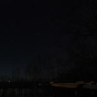 今夜の星空