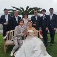 NC旋盤加工担当者の結婚披露宴に出席しました!