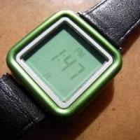 シチズンデジタル緑色