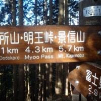 陣馬山Ⅴ(北高尾縦走)