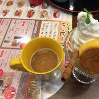 ハンバーグ&チキン南蛮 渋皮栗かぼちゃのサンデー ジョナサン