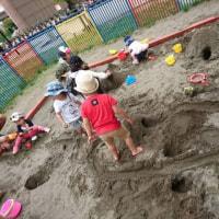 お砂場遊び
