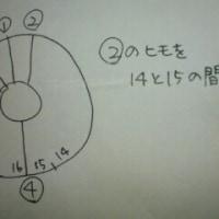 Weave wheel ディスク使い方説明