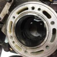 TZR エンジンがバラバラに!!・・・O/H中です。4