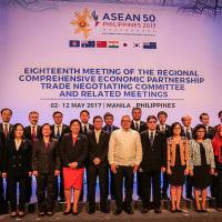 途上国にも配慮し、アジアFTA会合「妥結の緊急性」を確認。