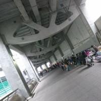 日産スタジアム回廊ランニング