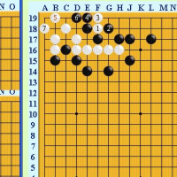 囲碁死活1017官子譜
