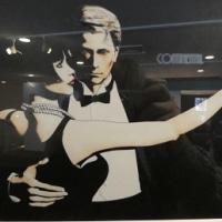 気になった「Continental tango」(今宵も夢が花ひらく)のグラフィック写真