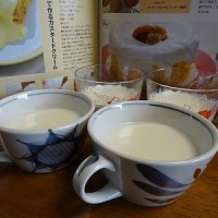 牛乳ゼリーのレシピ