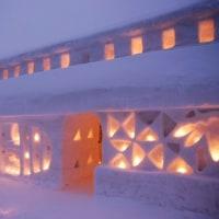 月山志津温泉雪祭り/雪旅籠の灯り2017