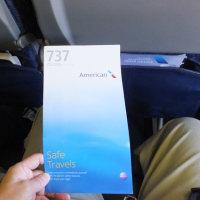 アメリカン航空 AA1305便 ソルト・レイク・シティ行き搭乗 (5/7)
