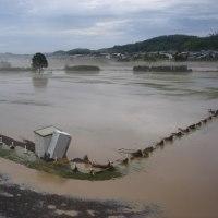 ヤバかった、常呂川の堤防!