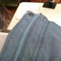 ダウンウェアの襟汚れキレイにします‼