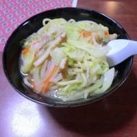 「野菜たっぷり和風ちゃんぽん」