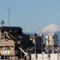 富士山きれいに見えてます