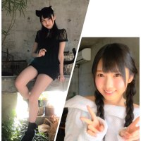 FLASHスペシャル「公式音ゲー グラビア争奪戦」HKT48優勝の朝長美桜&田中美久