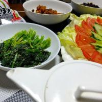 野菜食…夜ご飯は身体に優しい方がいい