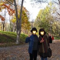 塩狩峠の紅葉♪