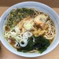 池袋駅構内 爽亭 天ぷらそば 480円